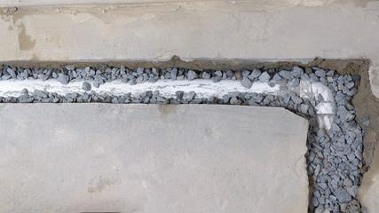 french drain installation san antonio texas